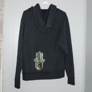 King Of Cole Soft Oversized Zip Up Hoodie XS
